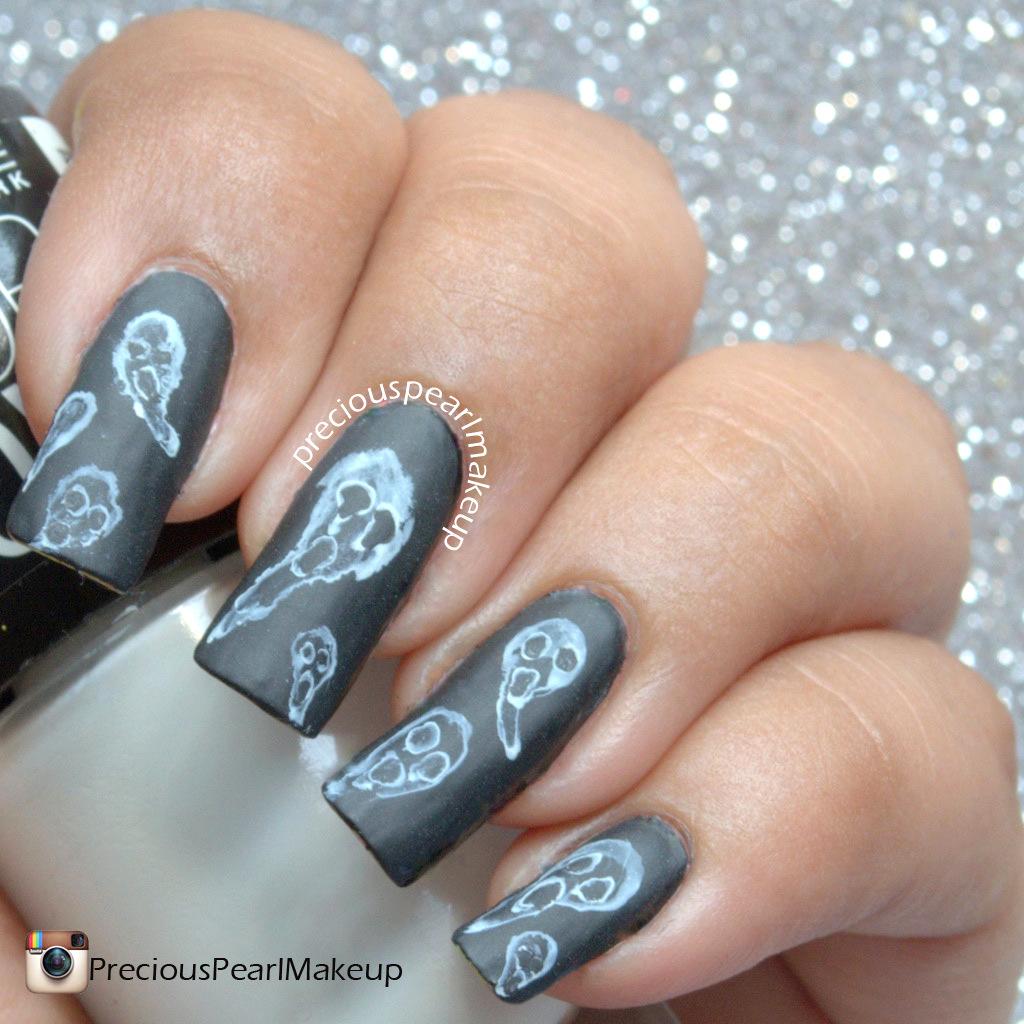 Preciouspearlmakeup 31dc2015 Day 29 Supernatural Nails