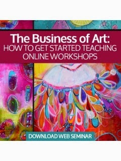 http://www.interweavestore.com/the-business-of-art-how-to-get-started-teaching-online-workshops