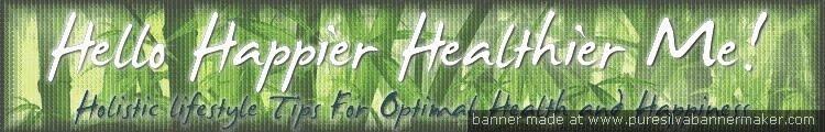 Hello Healthier Happier Me!