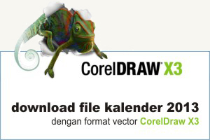 Download Gratis Kalender Vector Cdr Saling