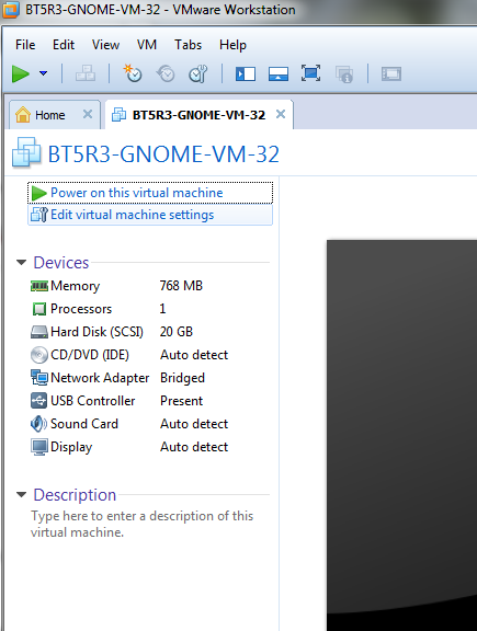Comment Installer Bt5r3 Gnome Vm 32