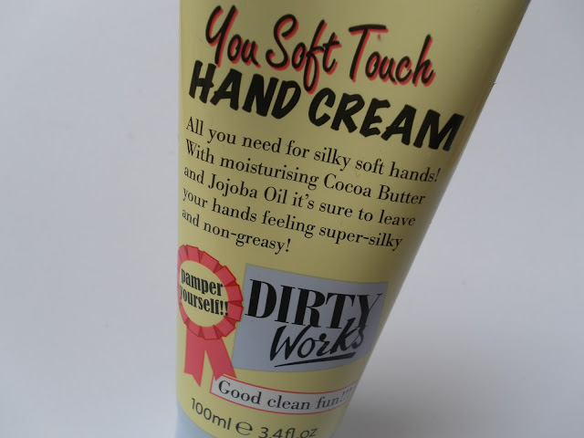 A picture of Dirty Works You Soft Touch Hand Cream