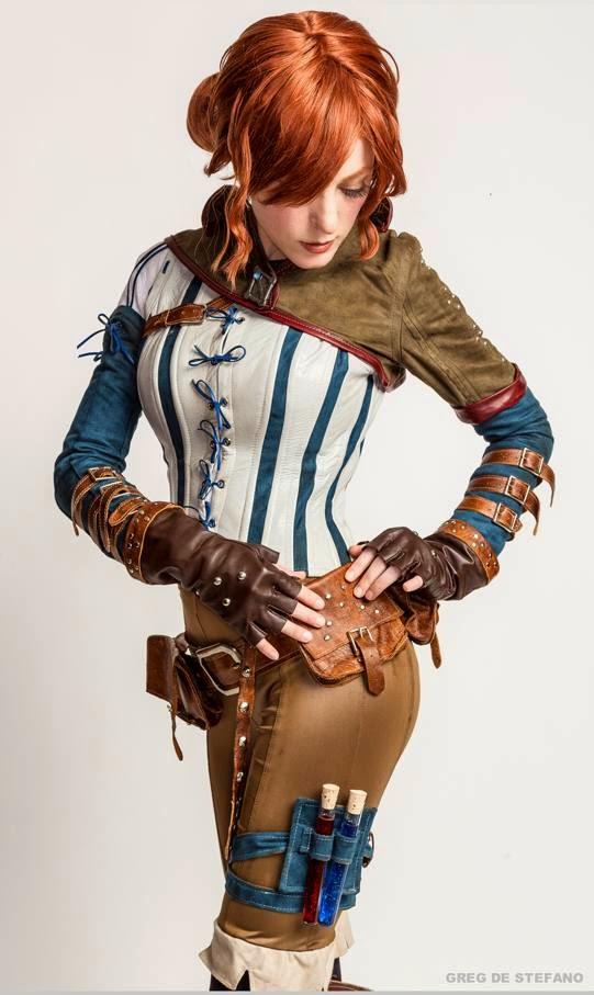El Arte Cosplay: The Witcher - Triss Merigold Cosplay