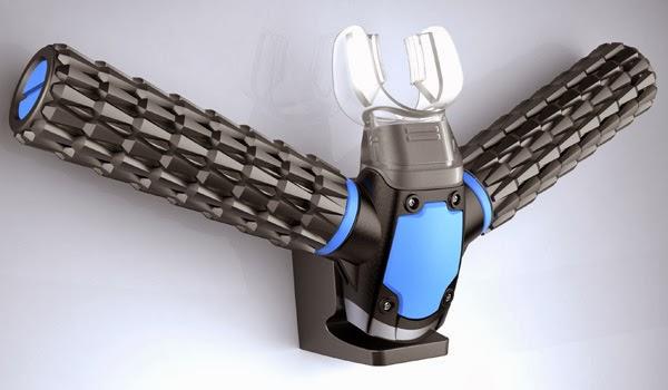 Triton Oxygen Respirator Extracts Air Underwater