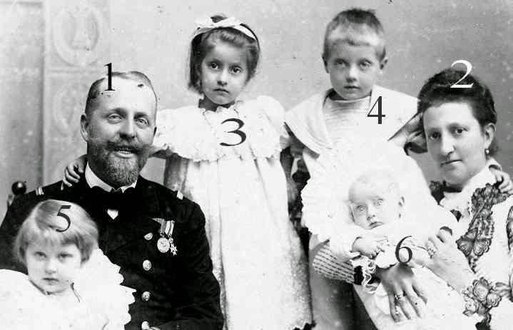 Prince et princesse August Léopold de Saxe-Cobourg et Gotha