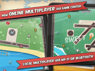 Flight Control HD iPad game to be updated with online multiplayer feature!