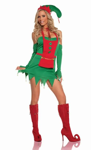 4 pc Holiday Helper Dress