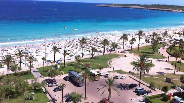 Las playas de Cala Bona y Cala Millor, Mallorca