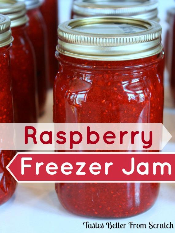 Raspberry Freezer Jam | Tastes Better From Scratch
