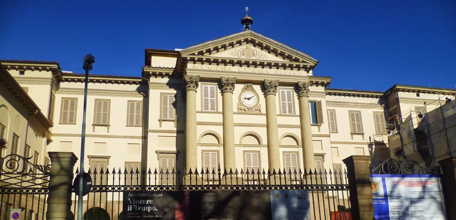 Svirgolettate bergamo scrigno prezioso di arte for Galleria carrara bergamo