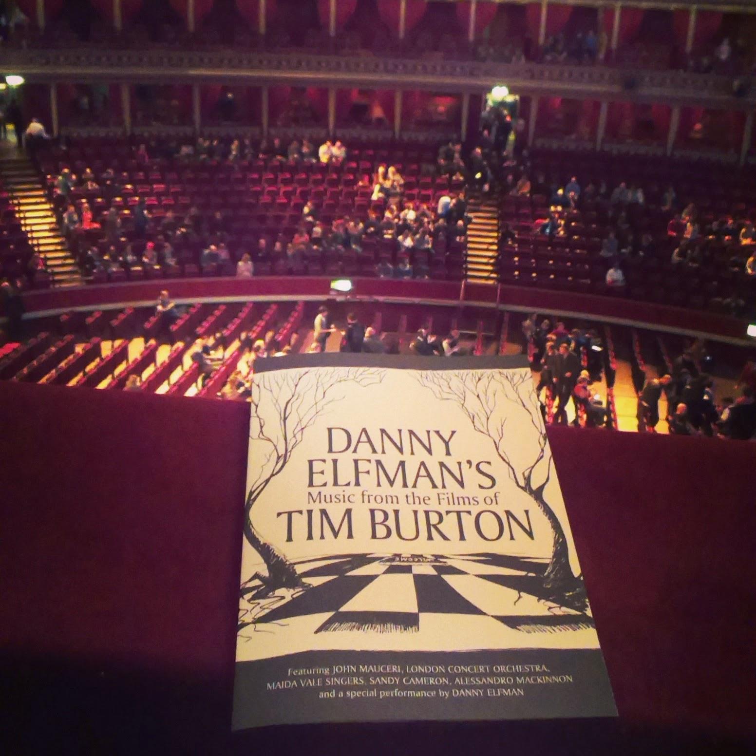 Royal Albert Hall - Danny Elfman's Music from the films of Tim Burton