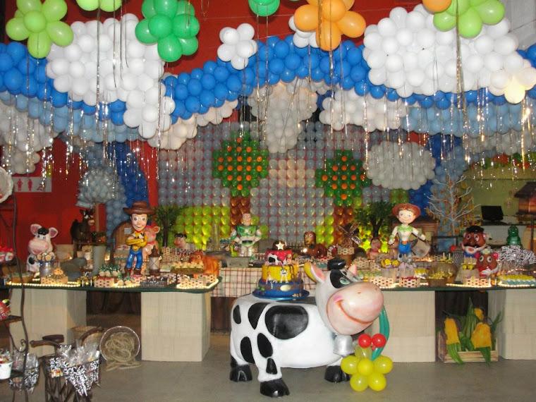 Toy Story na fazendinha