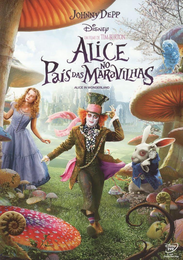 Filme Alice no País das Maravilhas Dublado AVI DVDRip