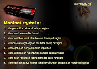 Manfaat Crystal  X