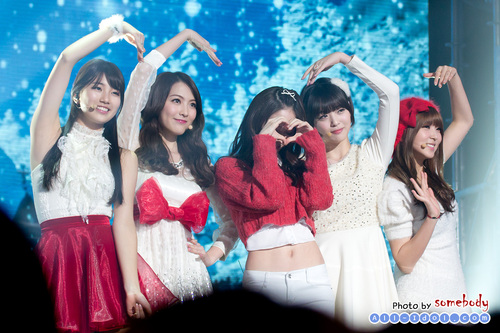 Bae Suzy 2012 Concert with Christmas Girls