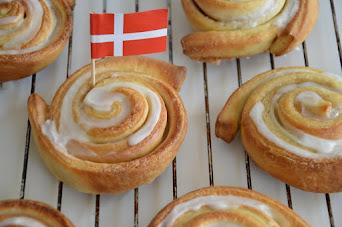 Rezept für original dänische Zimtschnecken