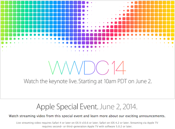 Apple - Apple Events - Special Event June 2014