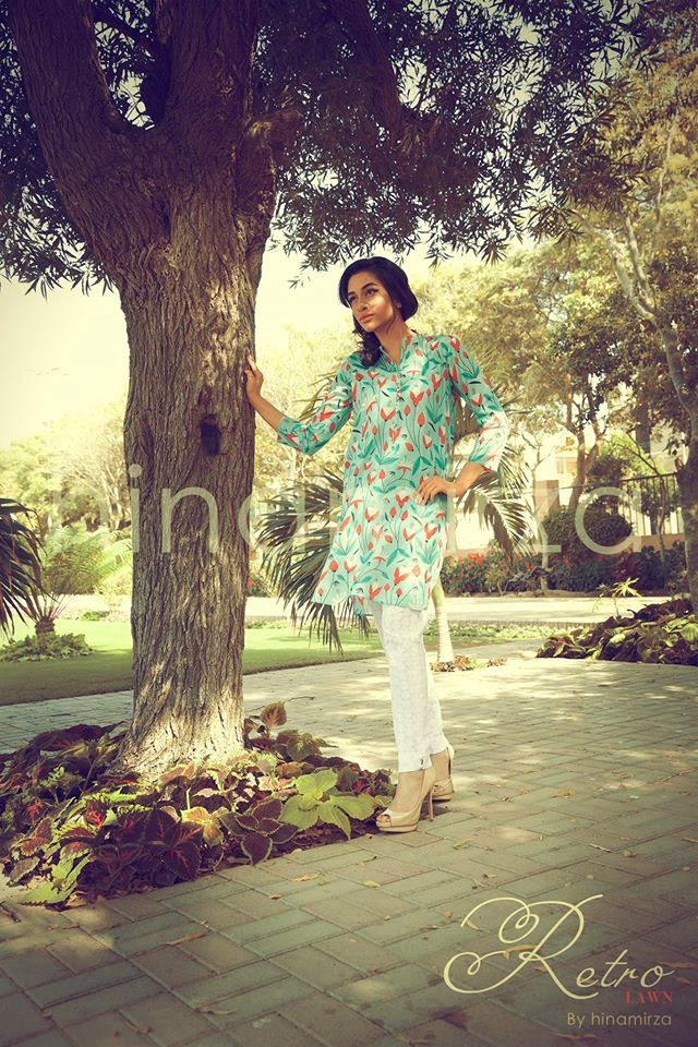 Retro Summer Lawn Prints 2015 Collection