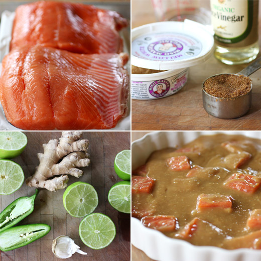 lisa is cooking: Sesame-Crusted Miso Salmon with Cilantro Sauce
