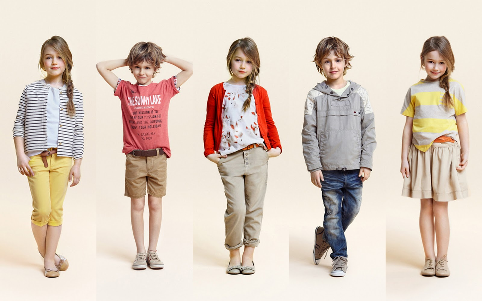Little fashionistas the zara kids collection