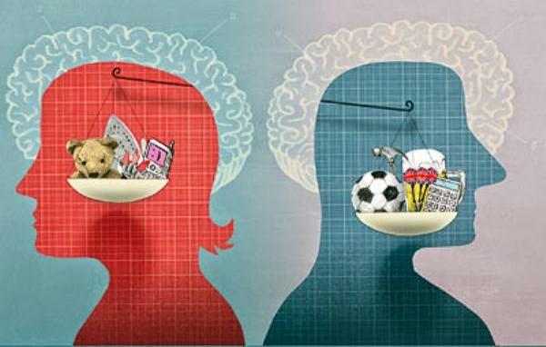10 اختلافات في تحليل دماغ الرجل والمرأه -فور يو