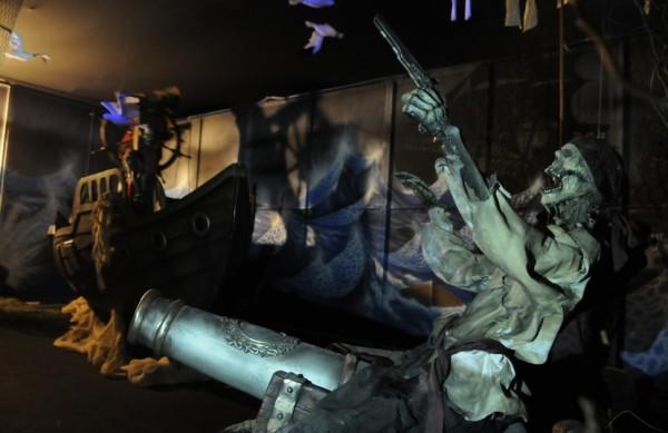 Exposição Piratas Assombrados, Shopping Palladium / reprodução divulgação internet