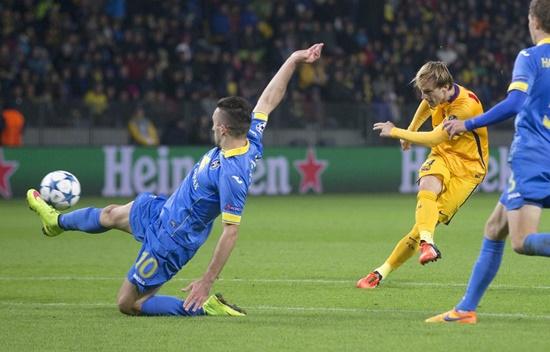 Bate Borisov 0 x 2 Barcelona - Champions League 2015/16