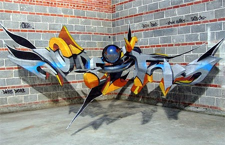 3D Graffiti Seen On www.coolpicturegallery.us