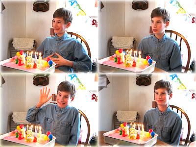 Happy 12th Birthday Sam!