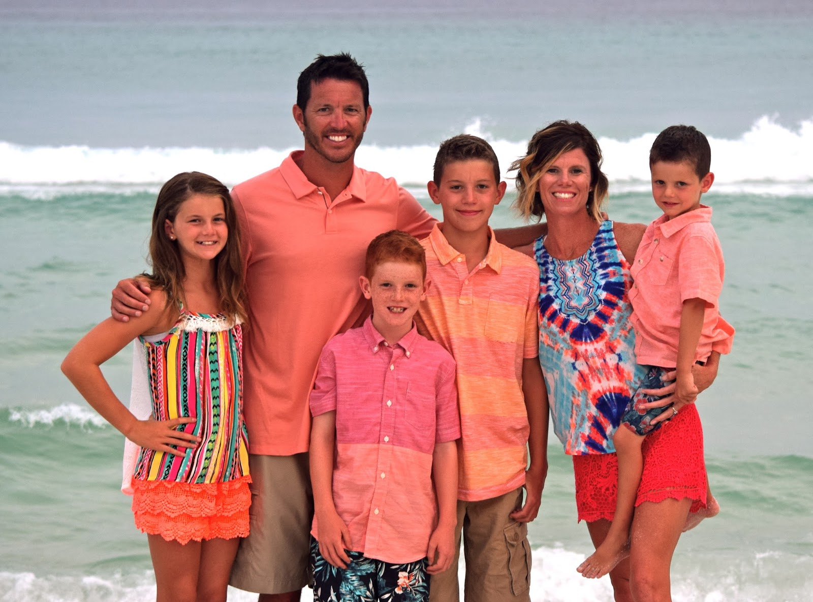 Six Pack of Says: Family Beach Photos