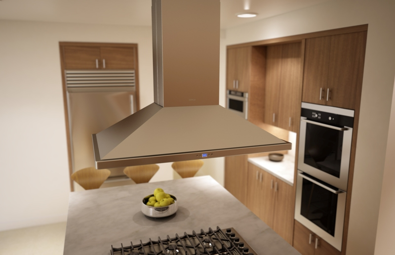 Residential Kitchen Exhaust Hoods ~ Kitchen and residential design meet the highly innovative