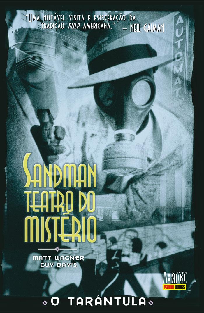 """Clássico da Vertigo, """"Sandman Teatro do Mistério"""" investe na ambientação noir"""