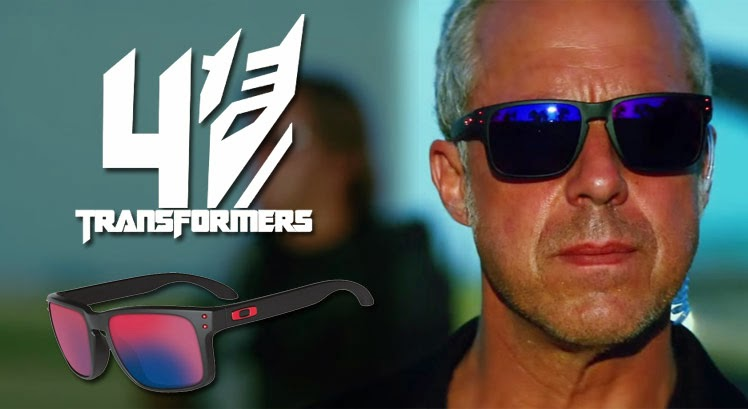 Titus Welliver wearing Oakley Holbrook Sunglasses in Transformers: Age of Extinction