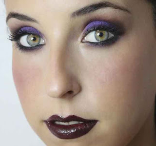 Resultado de maquillaje par Halloween de Mery Make Up
