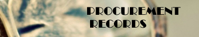 Procurement Records: Pseudo Label and Review