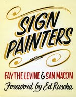 Sign Painter: movie & book