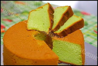 Resep Kue | Green Chiffon Cake