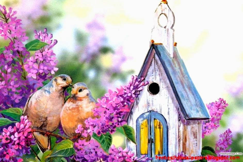 Birdhouses Wallpaper | Free Best Hd Wallpapers