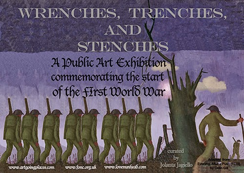 Public Art Exhibition commemorating the start of the First World War