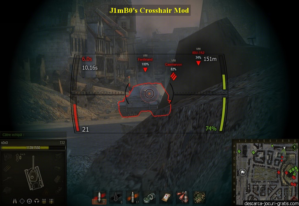 J1mB0's Crosshair Mod screenshot 2