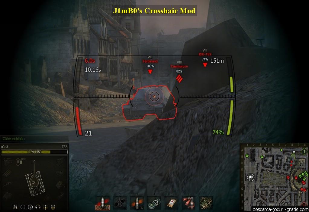 J1mB0's Crosshair Mod screenshot 2