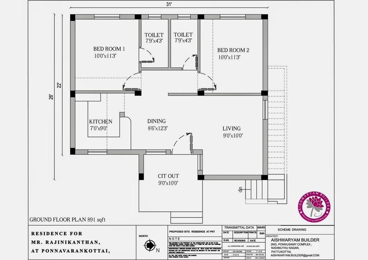 Contractors in Chennai: Double bed room home design,vastu shatra ...
