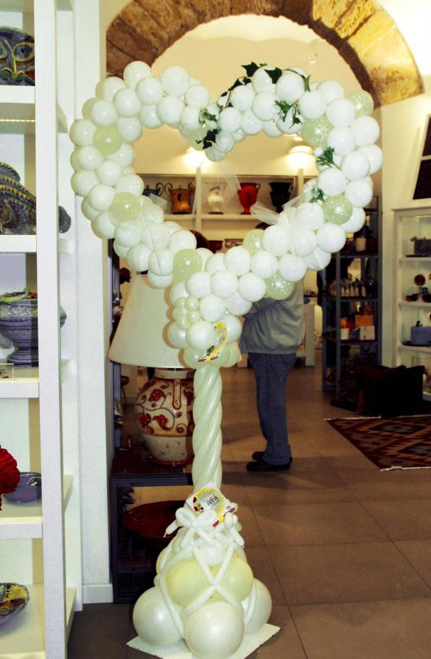 Cuore palloncini matrimonio wt91 regardsdefemmes - Decorazioni matrimonio palloncini ...