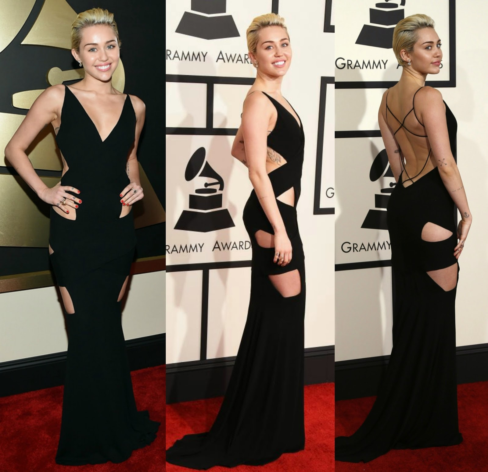 Stylefluid Trendz: Miley Cyrus Cutting it out in an Alexandre ...