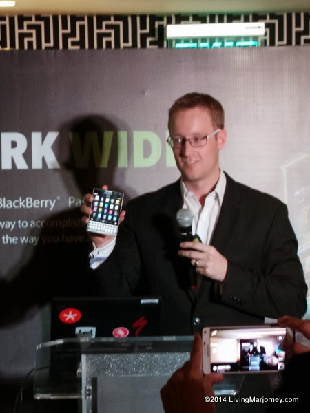 BlackBerry Passport via LivingMarjorney.com