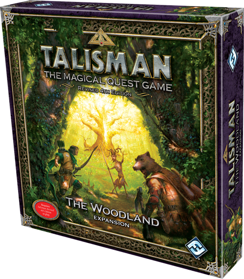 Talisman The Woodland board game news