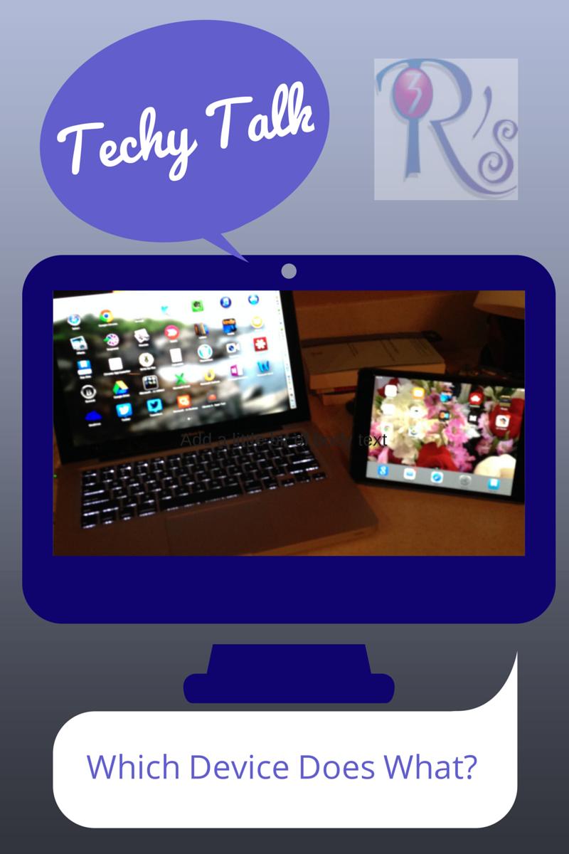 Techy Talk on The 3 Rs Blog