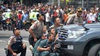 Aksi tembak menembak Bom tamrin Sarinah
