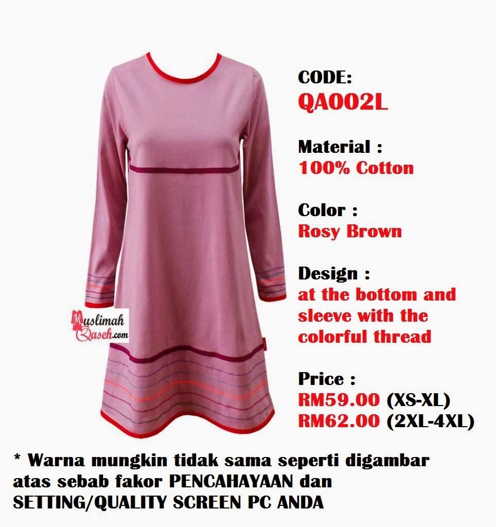 T-Shirt-Muslimah-Qaseh-QA002L