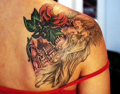 Shoulder Tattoos - Celebrity Tattoo